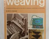 Step by Step Weaving Book by Nell Znamierowski Vintage 1977