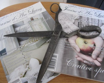 SALE// Very OLD// GINORMOUS// Seamstress Scissors// Sewing Room