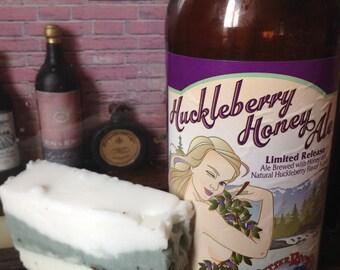 Montana Huckleberry Honey Ale beer soap
