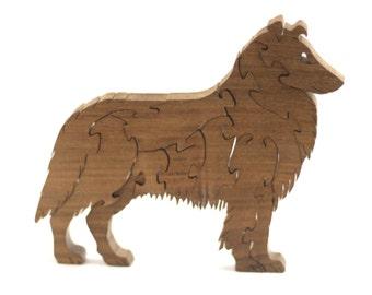 Collie Wooden Puzzle