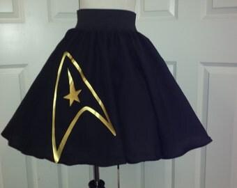 Star Trek Inspired Skirt (Assorted Colors Avaliable)