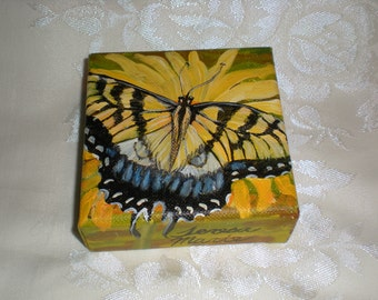 Eastern Tiger Swallowtail Butterfly Painting