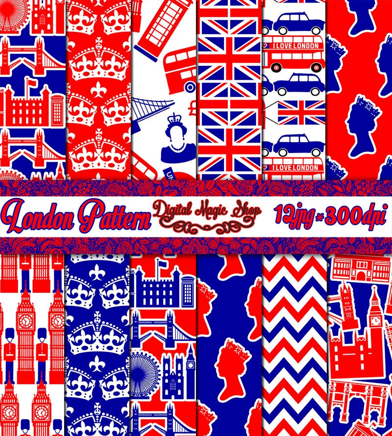 Popular items for london paper on Etsy