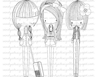 Meisjes van de stad