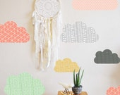 Geo Clouds - WALL DECAL