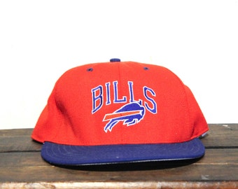 Vintage Buffalo Bills NFL Football Snapback Hat Baseball Cap