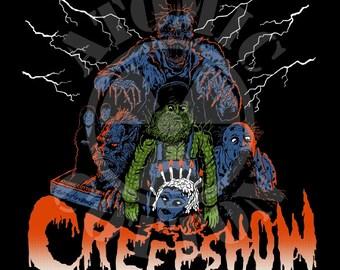 Creepshow shirt with artwork by Trevor Henderson