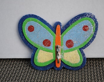 Hand Painted Butterfly Hook