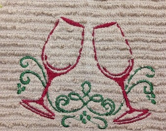 Wine bar towels