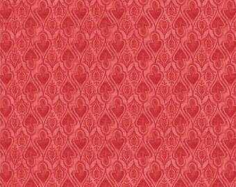 Beautiful Rose Foulard, Autumn Elegance, Studio e, Rich Color By 1/2 yd