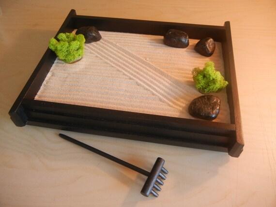 M 01 Medium Desk Or Table Top Zen Garden By Critterswoodworks