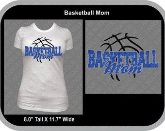 Basketball Mom SVG Cutter Design INSTANT DOWNLOAD