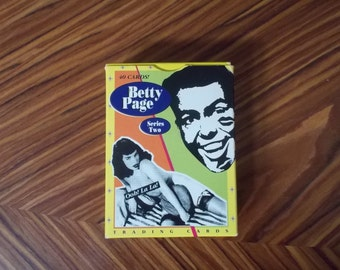 Betty Page Trading Cards  Set of 40   Series Two 1992