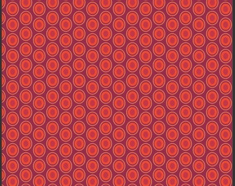 "Art Gallery ""oval element"" red"