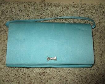 Vintage De Pinna Turquoise Handbag