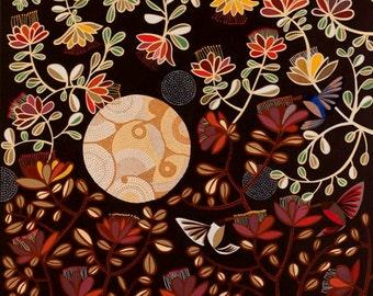 Geraldton Native Rose Paper Print