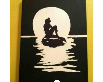 Disney Princess Art Canvases