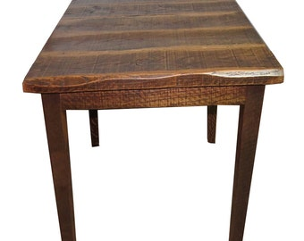 """Rustic Distressed Oak 42"""" High Pub Table with 40X40 Top"""