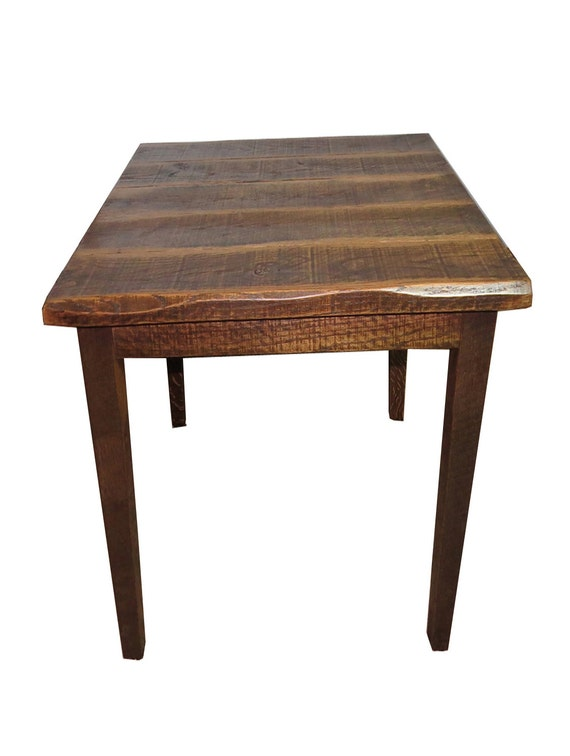 barnwood 42 high pub table with 40x40 top. Black Bedroom Furniture Sets. Home Design Ideas