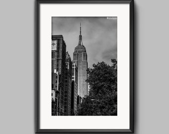 Fine art print of Empire State Building, New York