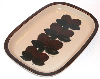 Arabia Finland Ruija Rectangular Platter, Serving Platter, Mid Century Modern, Scandinavian Design @94