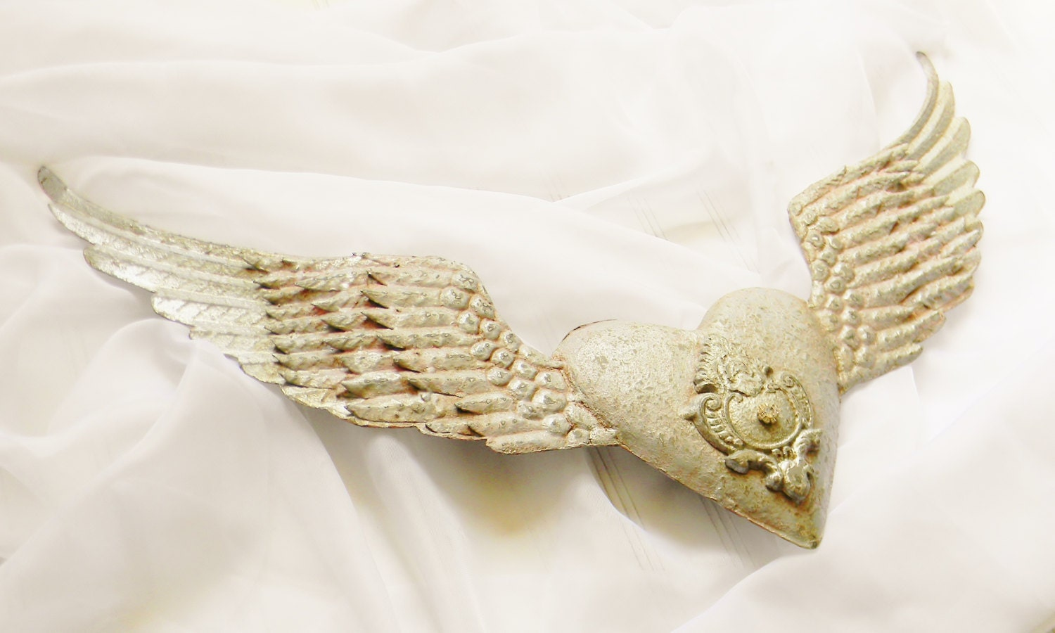 Angel wings wall decor metal angel wings by for Angel wings wall decoration