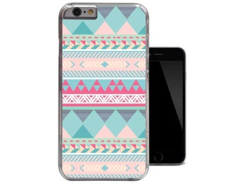 Green Aztec Pink Tribal Nautical iPhone 4 4s case / iPhone 5 5s case / iPhone 5c case / iPhone 6 case (A153)
