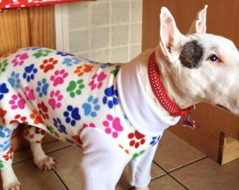 Made to measure dog onesie