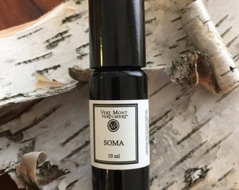 SOMA Natural Oil Perfume. Surrender to lightness of being.
