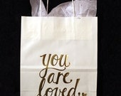 you are loved gift bag
