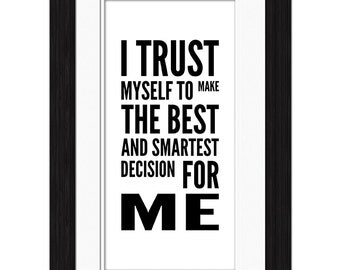I Trust Affirmation
