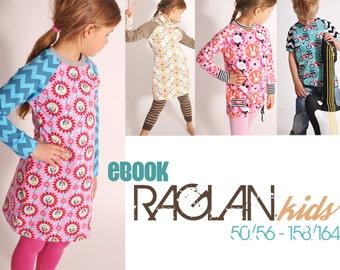 eBOOK # 73 RAGLAN.kids 50/56-158 / 164 - only in german language
