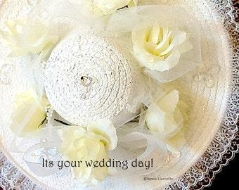 Wedding Day Hat