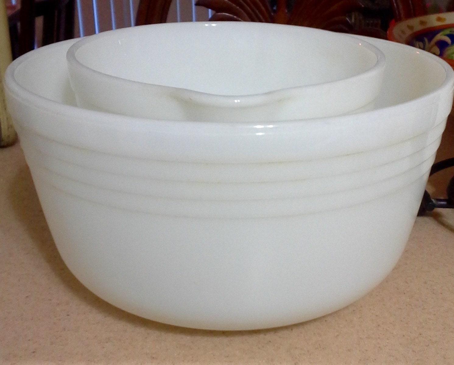 Pyrex mixing bowls white pyrex bowls pyrex by lalecreations