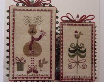 French Cross Stitch Pattern from Tralala - Joyeux Noel (Merry Christmas) - Design by Corinne Rigaudeau