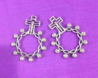Decade rosary rings