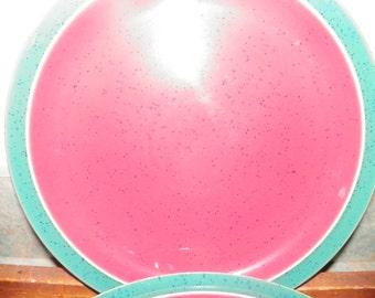 Denby Harlequin Dinner Plates