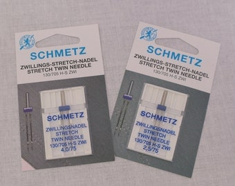 Schmetz Stretch Twin Sewing Machine Needles