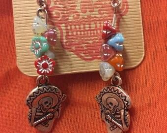 Calaveras Mariachi Earrings
