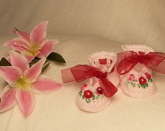 Royal Baby Knit Shoes (pair)