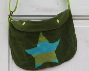 striped Star - little purse