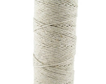 Hemp Cord Natural Color 20lb Test 50g Spool (CD6020)