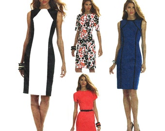 McCall's Sewing Pattern M6028 Misses' Dresses Used
