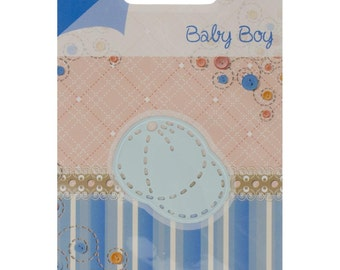 "Joy! Crafts Cutting & Embossing Die ~ JC20209 ~ Baby Boy Hat, 1.625""X1.5"" ~"