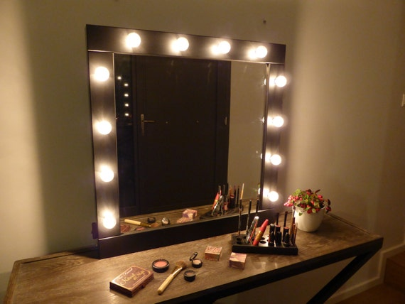 mirror on a stand vanity. Like this item  Vanity mirror with lights makeup wall hanging or
