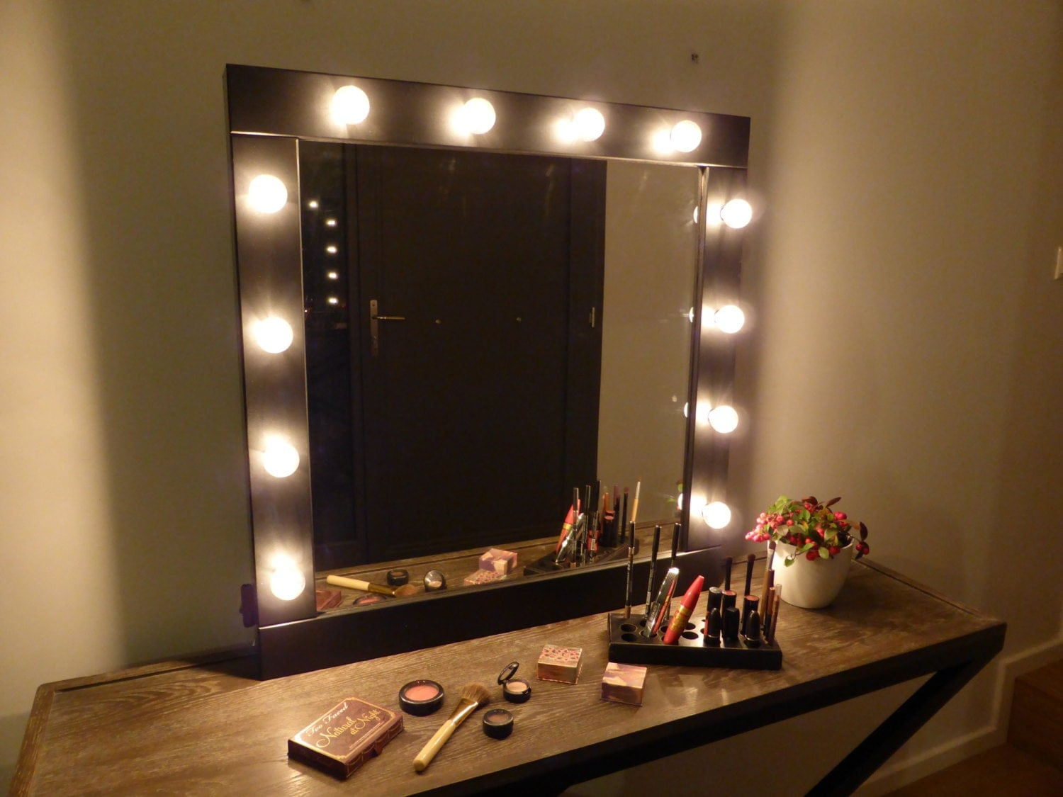 Wall Makeup Mirror vanity mirror with lights makeup mirror wall hanging or