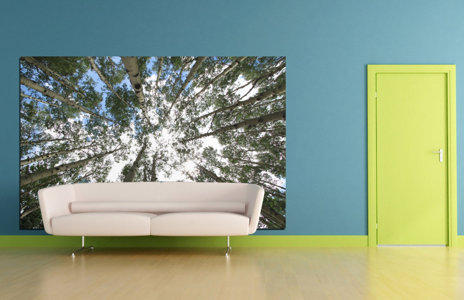 Peel And Stick Wall Decor Nature Wall Decal Etsy