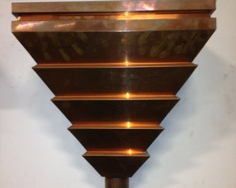 Copper Pyramid Leader Head
