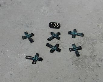 4 Small Cross Pendant  #106