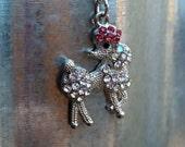Poodle Charm Necklace...